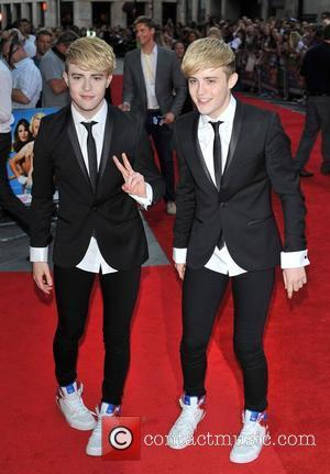 Jedward 'Keith Lemon the Film' World premiere held at the Odeon West End - Arrivals. London, England - 20.08.12