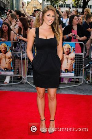 Lucy Pinder 'Keith Lemon the Film' World premiere held at the Odeon West End - Arrivals. London, England - 20.08.12
