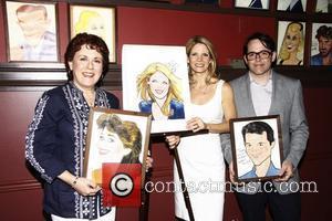 Judy Kaye, Kelli O'Hara and Matthew Broderick Sardi's Portrait Unveiling held at Sardi's restaurant.  New York City, USA -...
