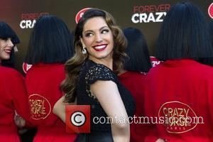 Kelly Brook Stripping in Paris as She Will Perform with Le Crazy Horse Cabaret Company.