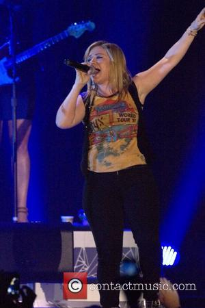 Kelly Clarkson performing at the Braehead Arena. Glasgow, Scotland - 16.10.12