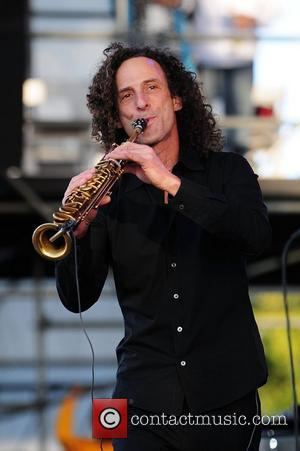 Kenny G performs during the 7th Annual Jazz In The Gardens at Sunlife Stadium. Miami, Florida - 18.03.12