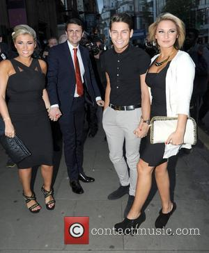 Billie Faiers, Joe Essex and Sam Faiers attend the Kensington Club launch party London, England - 20.07.12