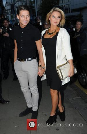 Joe Essex and Sam Faiers attend the Kensington Club launch party London, England - 20.07.12