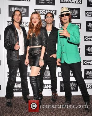 Halestorm Kerrang! Awards held at the Brewery - Arrivals. London, England - 07.06.12