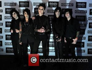 Black Veil Brides  Kerrang! Awards held at the Brewery - Arrivals. London, England - 07.06.12