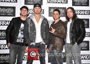 Bullet for my Valentine Kerrang! Awards held at the Brewery - Arrivals. London, England - 07.06.12