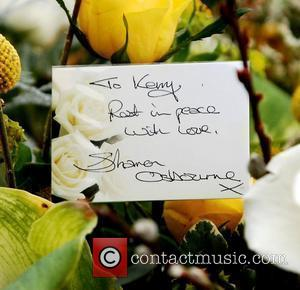 Flowers from Sharon Osbourne The funeral of former The X Factor contestant Kerry McGregor, held at the Kirk of Calder....