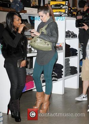 Khloe Kardashian and Malika Haqq