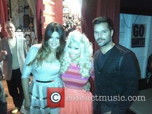 Khloe Kardashian, Nicki Minaj and Ricky Martin