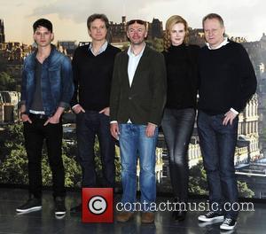Jeremy Irvine, Colin Firth and Nicole Kidman