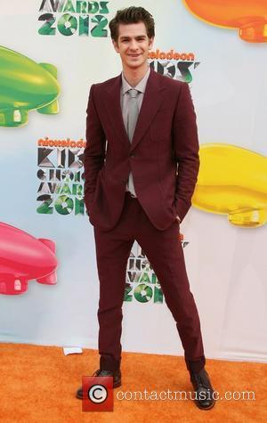 Andrew Garfield 2012 Kids Choice Awards held at the Galen Center - Arrivals Los Angeles, California - 31.03.12