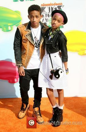 Jaden Smith and Willow Smith 2012 Kids Choice Awards held at the Galen Center - Arrivals Los Angeles, California -...