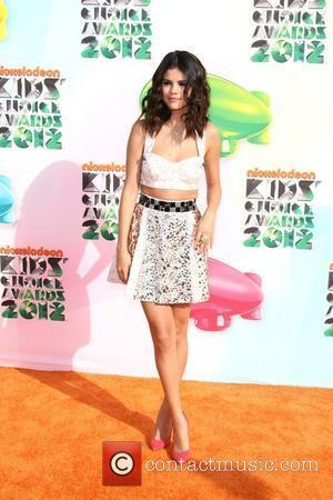 Selena Gomez 2012 Kids Choice Awards held at the Galen Center - Arrivals  Los Angeles, California - 31.03.12