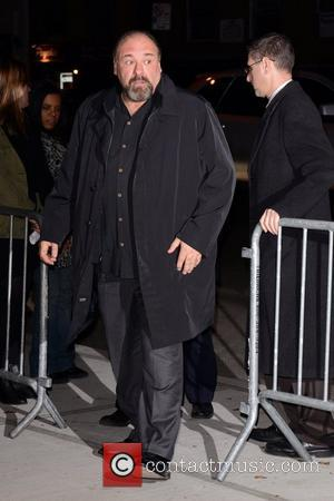 James Gandolfini New York Premiere of 'Killing Them Softly' at the SVA Theate - Outside Arrivals New York City, USA...
