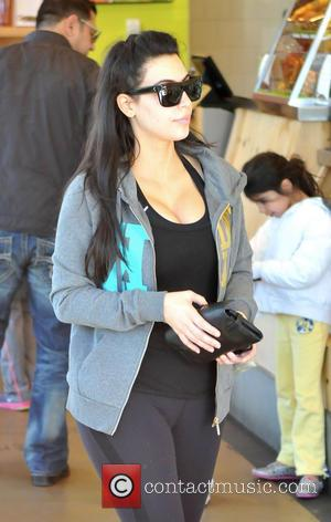 Kim Kardashian, Gym, Los Angeles