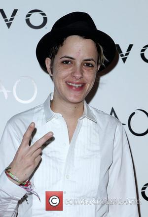 Samantha Ronson  New Year's Eve Party at Tao Night Club at the Venetian Hotel & Casino - Arrivals Las...