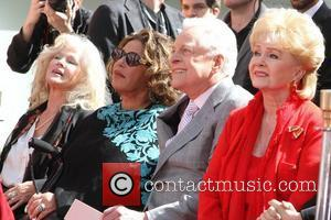 Connie Stevens, Lainie Kazan, Robert Osbourne, Debbie Reynolds  Kim Novak Hand and Footprint Ceremony during the 2012 TCM Classic...