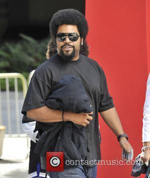 Rapper/actor Ice Cube,  arrive for Game Four of the 2012 Stanley Cup Final between the Los Angeles Kings and...