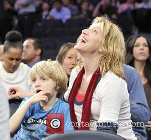 Edie Falco and Madison Square Garden