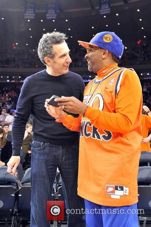 John Turturro; Spike Lee Celebrities courtside at the  New York Knicks vs. Chicago Bulls game at Madison Square Garden...