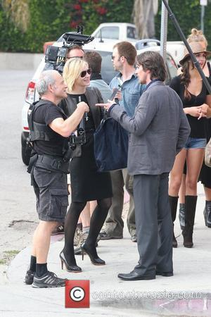 Knight of Cups Los Angeles June 13 2012 Christian Bale, Kate Blanchet filming on location Knight of Cups on location...