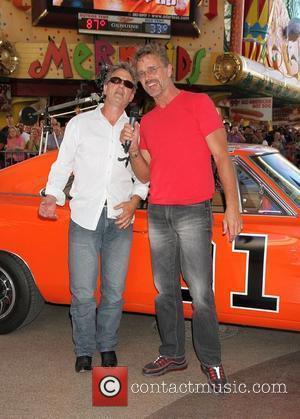 Byron Cherry, John Schneider Knight Rider Festival 2012 at Fremont Street Experience Las Vegas, Nevada - 18.05.12