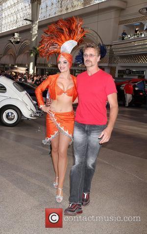 John Schneider Knight Rider Festival 2012 at Fremont Street Experience Las Vegas, Nevada - 18.05.12