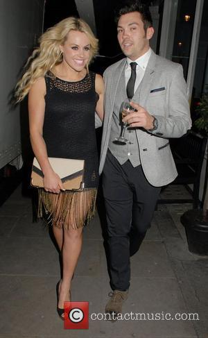 Chemmy Alcott and Sam Attwater,  at the IAM Konki launch party at Sanctum Soho Hotel. London. England - 10.05.12