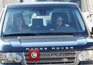 Kourtney Kardashian leaving Barneys New York store in Beverly Hills Los Angeles, California - 21.12.11