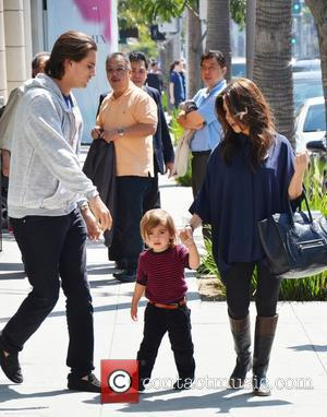 Kourtney Kardashian, Mason and Scott Disick