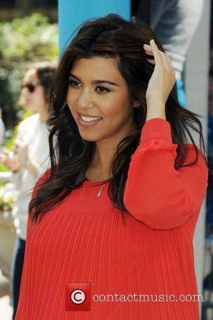 Kourtney Kardashian and Bryant Park