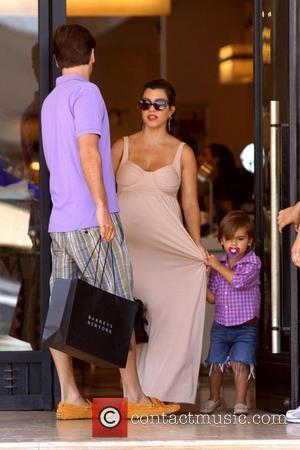 Scott Disick, Kourtney Kardashian and Mason