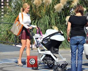 Kristin Cavallari pushes her son Camden Jack Cutler in a stroller Los Angeles, California - 28.09.12