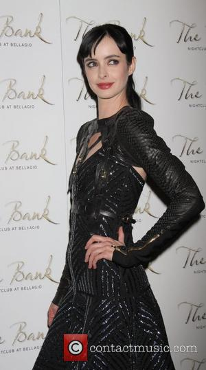 9;Krysten Ritter celebrates her 31st Birthday at the Bank Nightclub inside The Bellagio Resort and Casino  Las Vegas, Nevada...