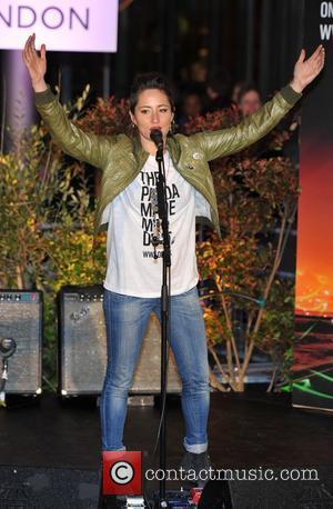 KT Tunstall WWF's Christmas Lights Switch Off held at the Westfield London. London, England - 06.01.12