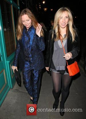 Stella Mccartney and Sam Taylor-wood