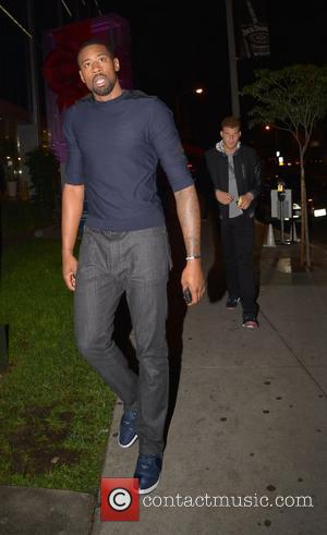 DeAndre Jordan and Blake Griffin arriving at BOA Steakhouse Los Angeles, California - 01.12.12