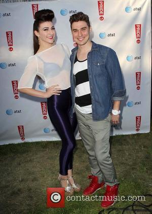 Karmin and Jeff Consoletti LA Pride 2012 in West Hollywood - Day 3 - VIP  Los Angeles - California...
