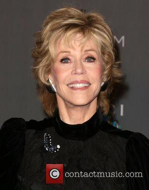 Jane Fonda LACMA 2012 Art + Film Gala Honoring Ed Ruscha and Stanley Kubrick presented by Gucci at LACMA -...
