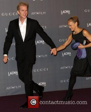 Matthew Modine and guest LACMA 2012 Art + Film Gala Honoring Ed Ruscha and Stanley Kubrick presented by Gucci at...