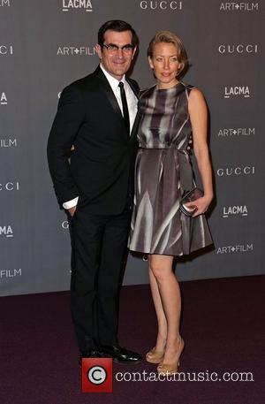 Ty Burrell and Holly Burrell LACMA 2012 Art + Film Gala Honoring Ed Ruscha and Stanley Kubrick presented by Gucci...