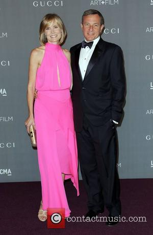 Willow Bay and Robert Iger  LACMA 2012 Art + Film Gala Honoring Ed Ruscha and Stanley Kubrick presented by...