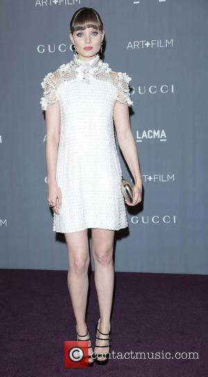 Bella Heathcote  LACMA 2012 Art + Film Gala Honoring Ed Ruscha and Stanley Kubrick presented by Gucci at LACMA...