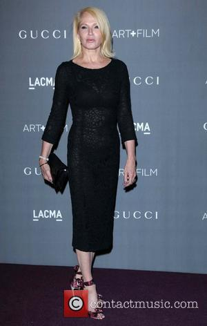 Ellen Barkin  LACMA 2012 Art + Film Gala Honoring Ed Ruscha and Stanley Kubrick presented by Gucci at LACMA...