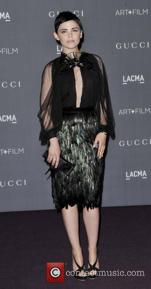 Ginnifer Goodwin LACMA 2012 Art + Film Gala Honoring Ed Ruscha and Stanley Kubrick presented by Gucci at LACMA -...