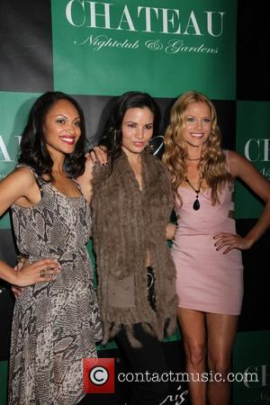Cynthia Addai-Robinson, Katrina Law and Ellen Hollman The Leading Ladies Of Spartacus: Vengeance Party at Chateau Nightclub and Gardens at...