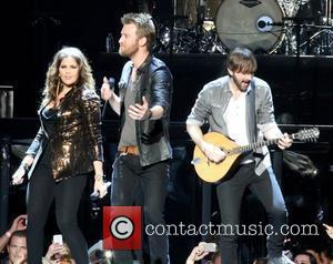 Lady Antebellum performing live at the Staples Center Los Angeles, California, USA - 27.03.12