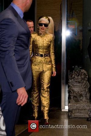 Lady GaGa and Manhattan Hotel
