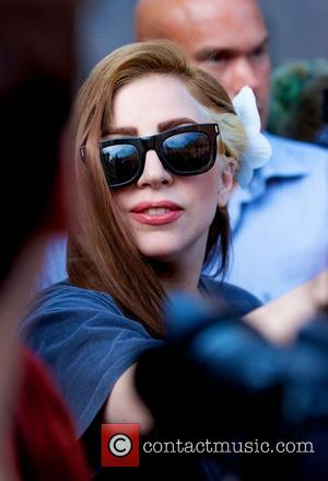 Lady Gaga  arriving at Conservatorium Hotel in Amsterdam  Amsterdam, Holland - 20.08.12